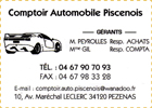 Comptoir Automobile Piscenois